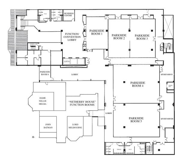 Bayview Eden Melbourne Conference Floor Plans