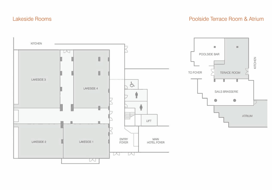 Bayview On The Park Conference Floor Plans
