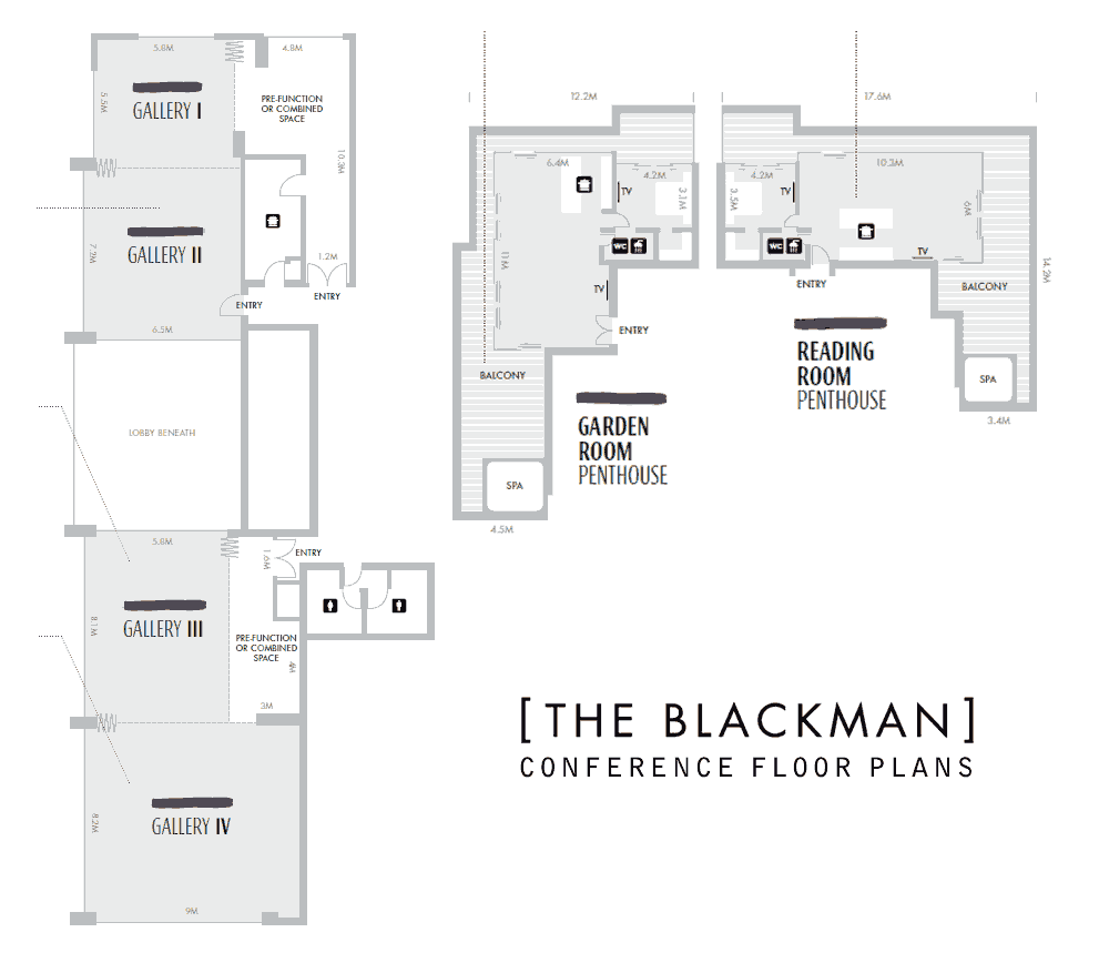 The Blackman Hotel Conference Floor Plans