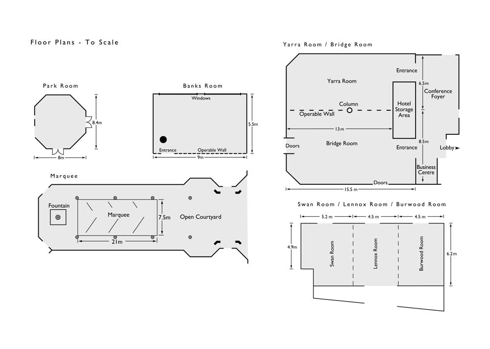 AmoraRiverwalk ConferenceFloorPlans